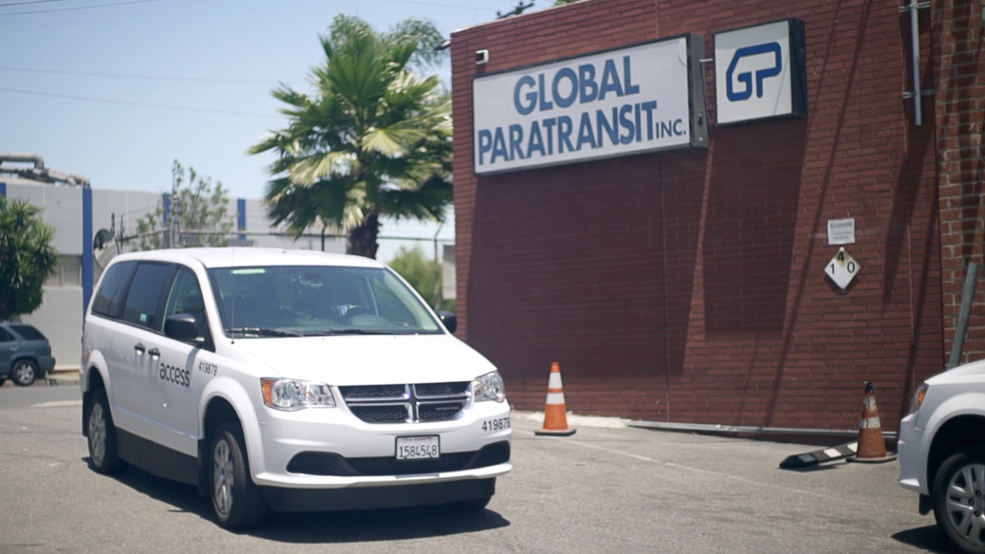 GPI Entrance Van Frame Global Paratransit