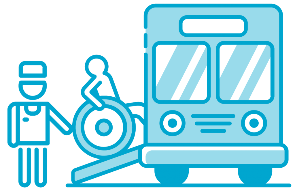 wheelchair accessible bus2 Global Paratransit