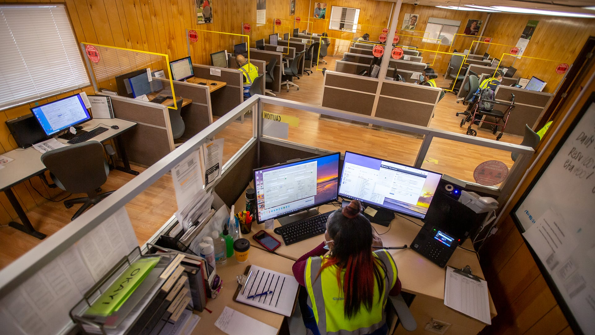 GPI Call Center Top View Edited Global Paratransit