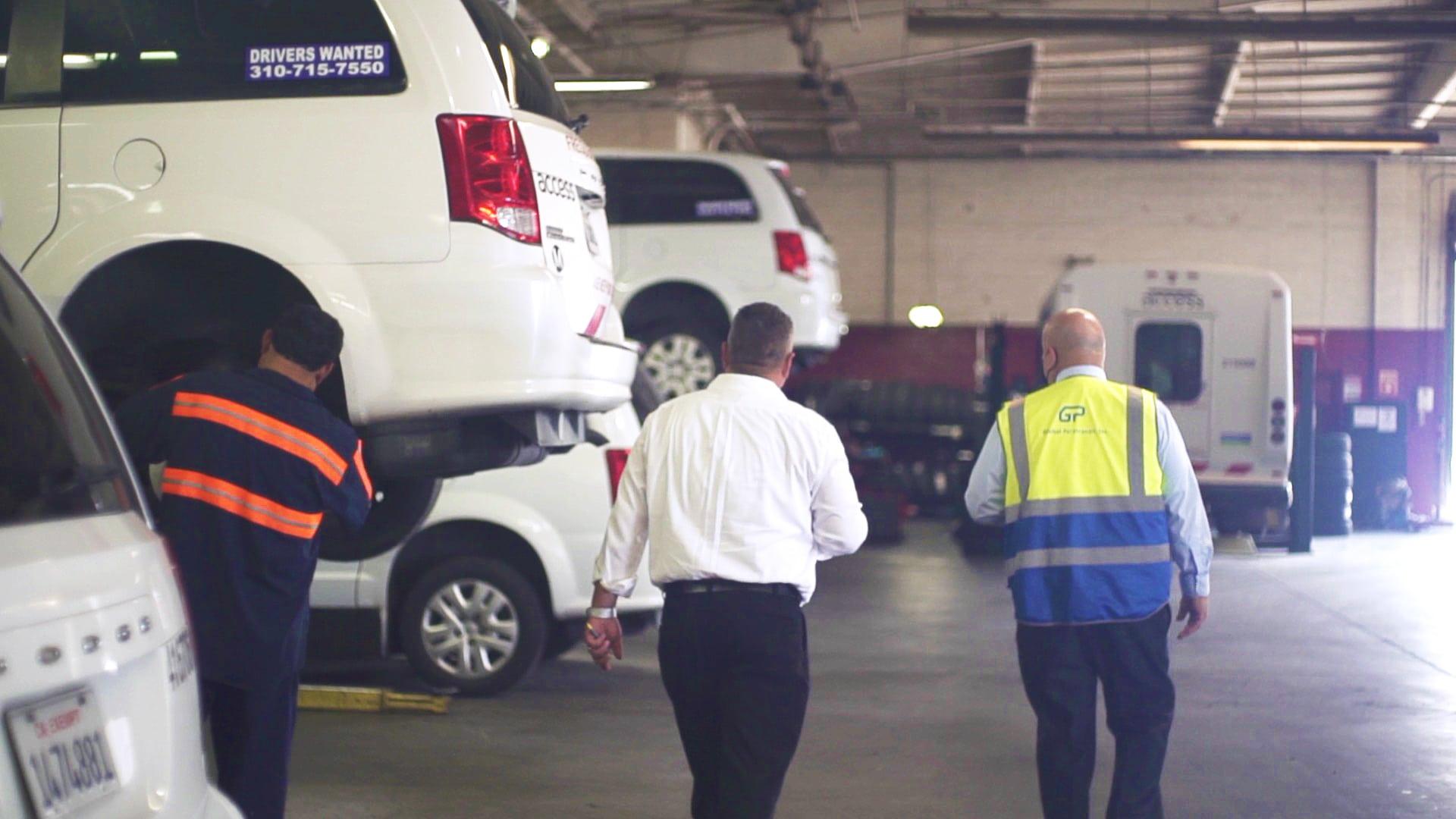GPI Maintenance Shop Mechanic Manager Driver Frame 2 Global Paratransit